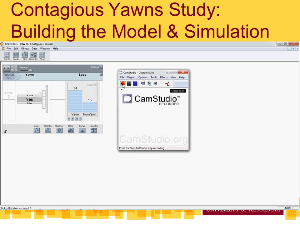 Contagious Yawns Study: Building the Model & Simulation