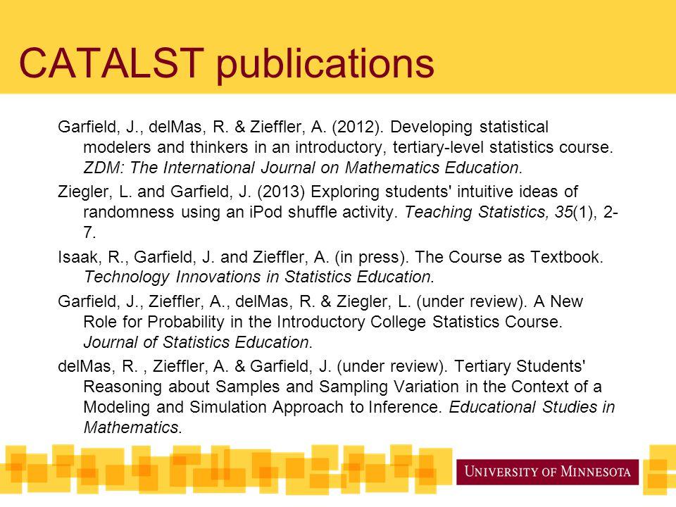 CATALST publications