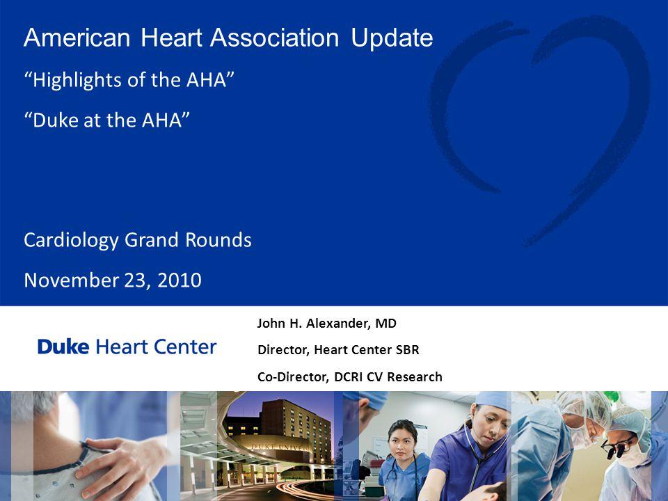 American Heart Association Update