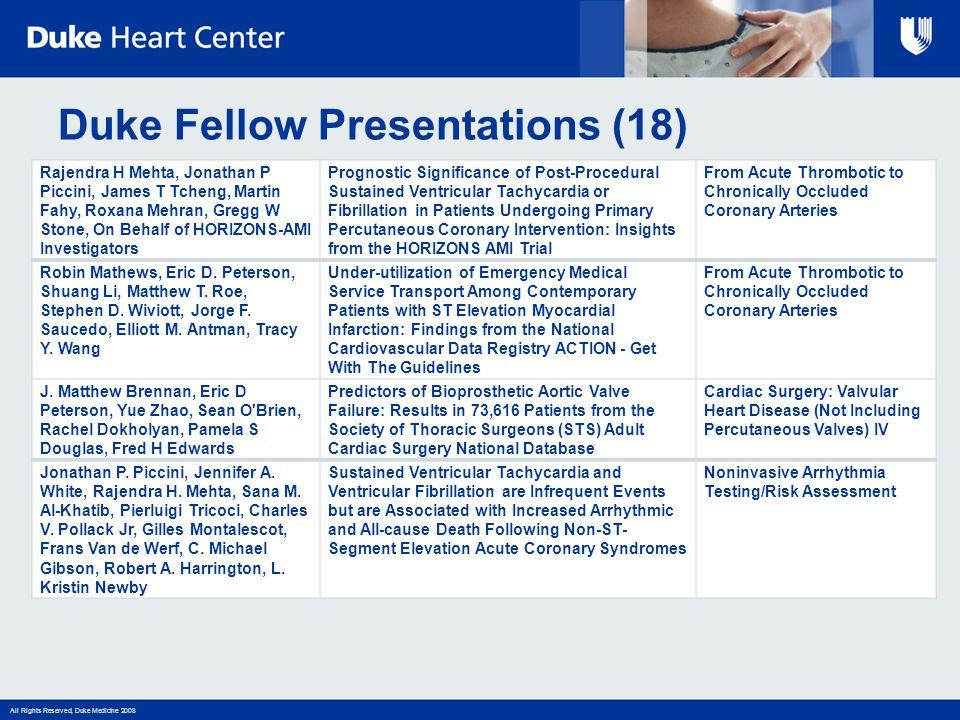 Duke Fellow Presentations (18)