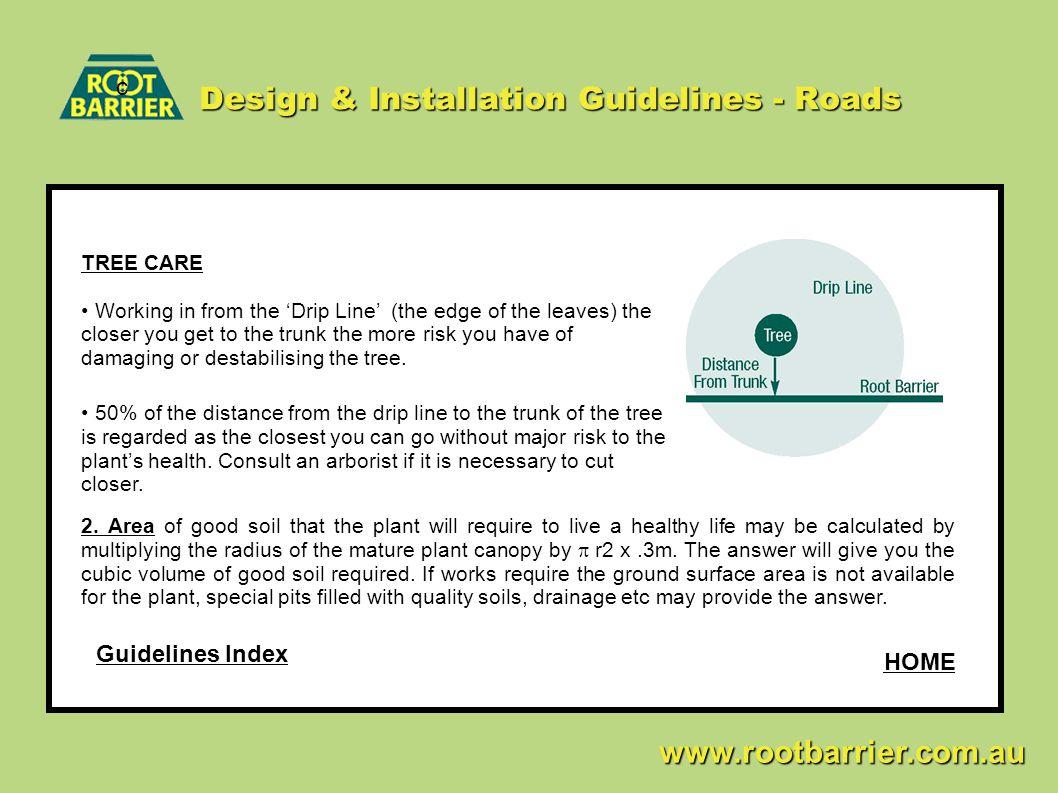 Design & Installation Guidelines - Roads