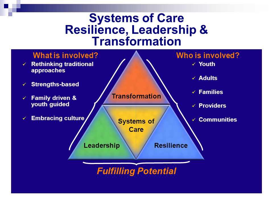 Systems of Care Resilience, Leadership & Transformation