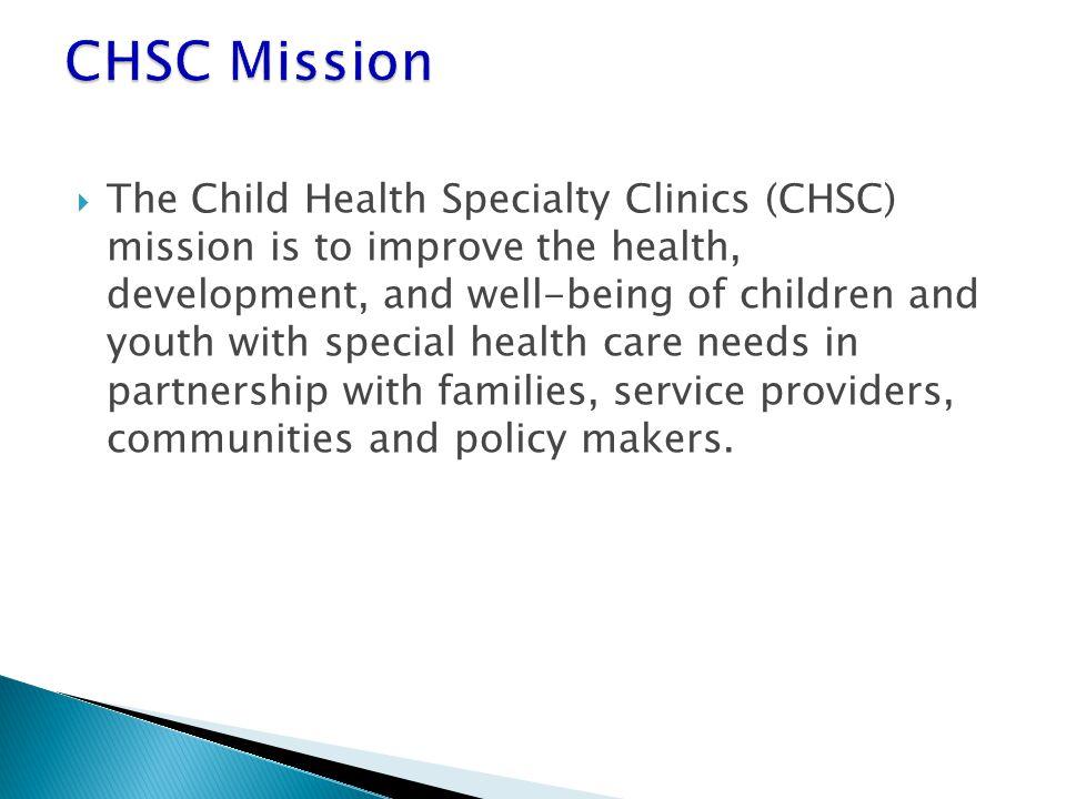 CHSC Mission