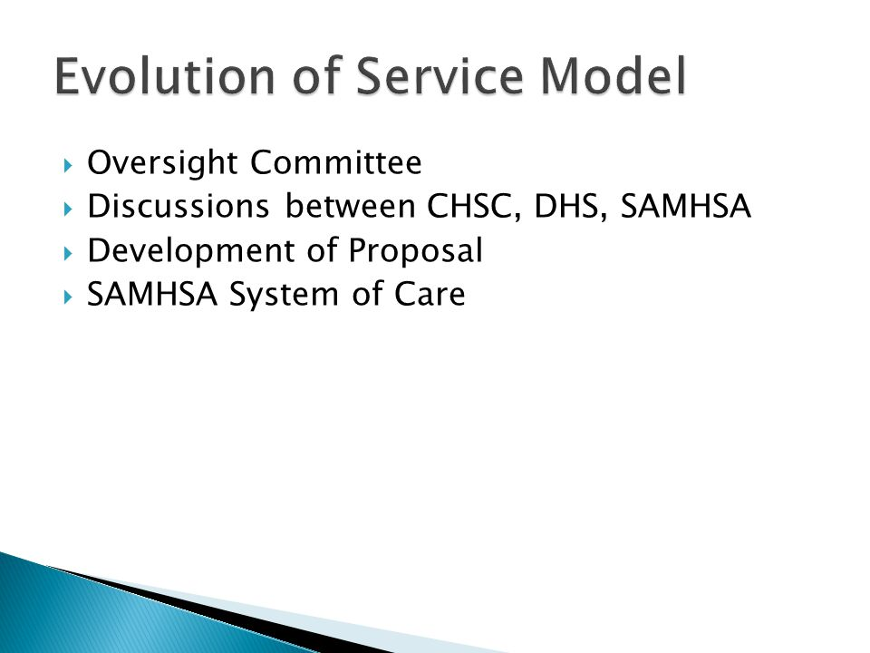 Evolution of Service Model