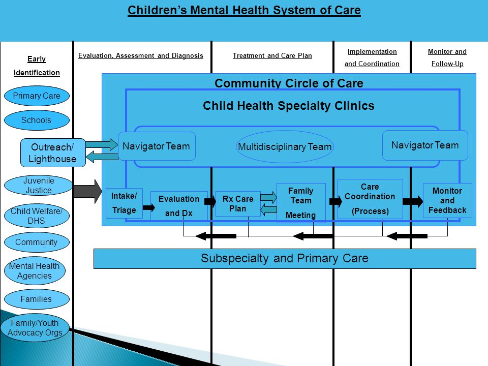 Children's Mental Health System of Care