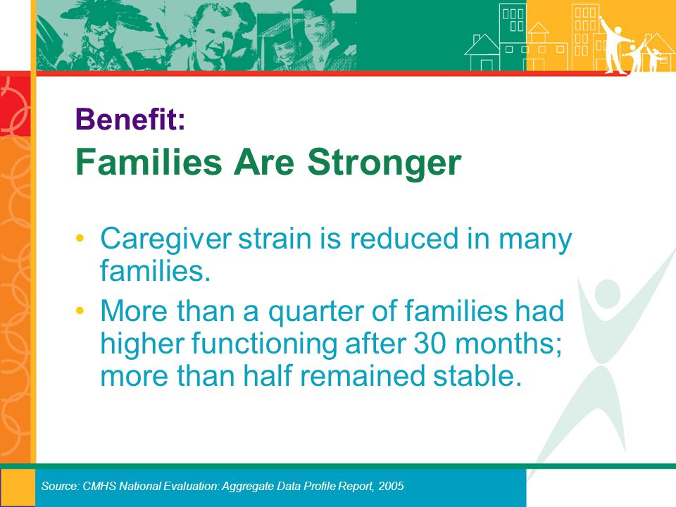 Benefit: Families Are Stronger