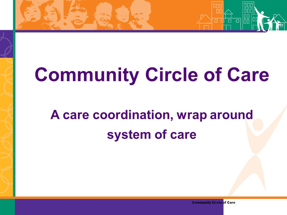 Community Circle of Care A care coordination, wrap around system of care