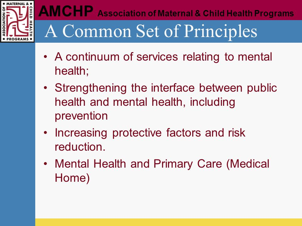 A Common Set of Principles