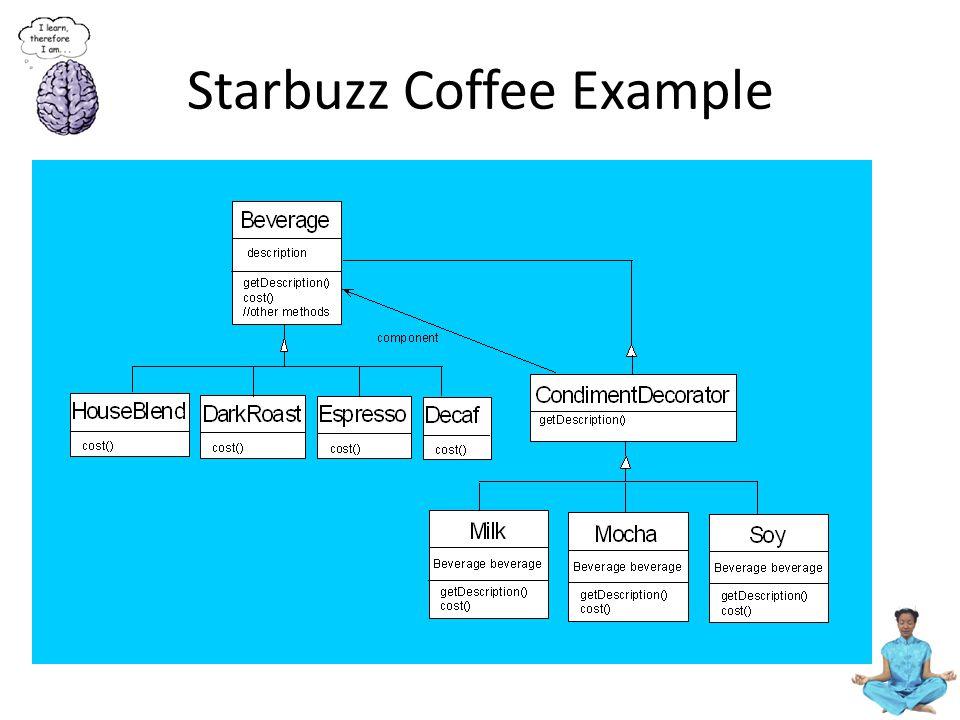Starbuzz Coffee Example