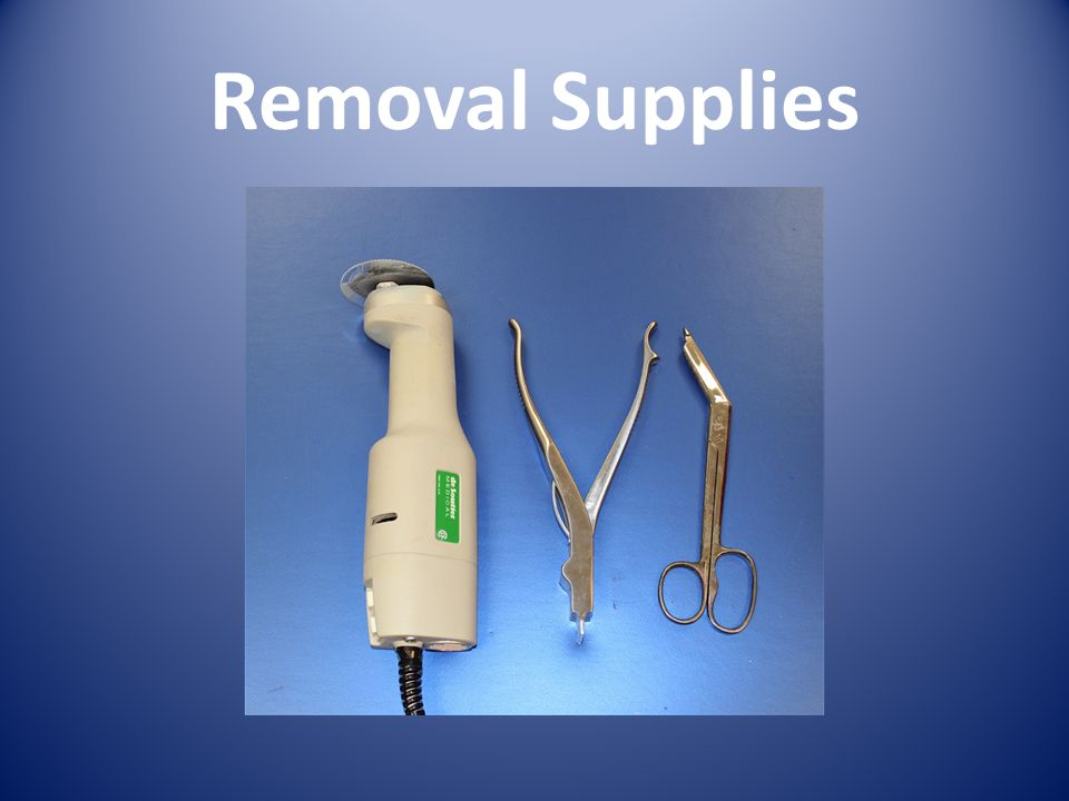 Removal Supplies