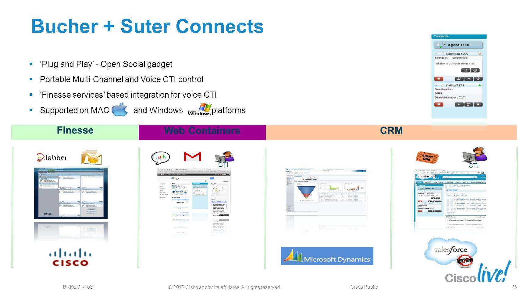 Bucher + Suter Connects