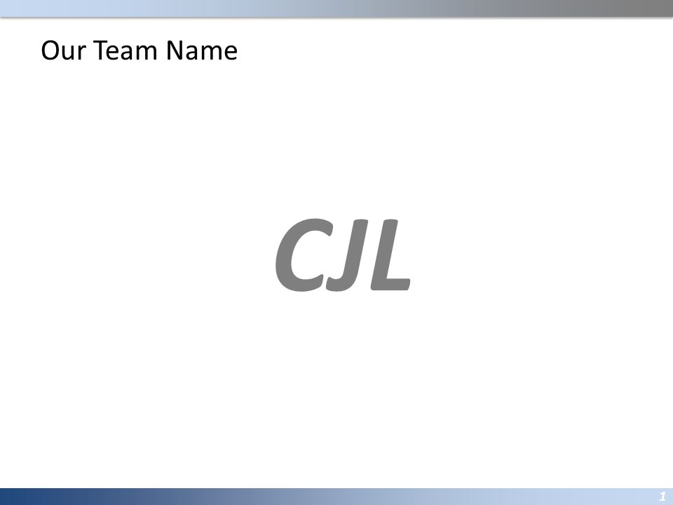Our Team Name Citibank Japan Ltd.