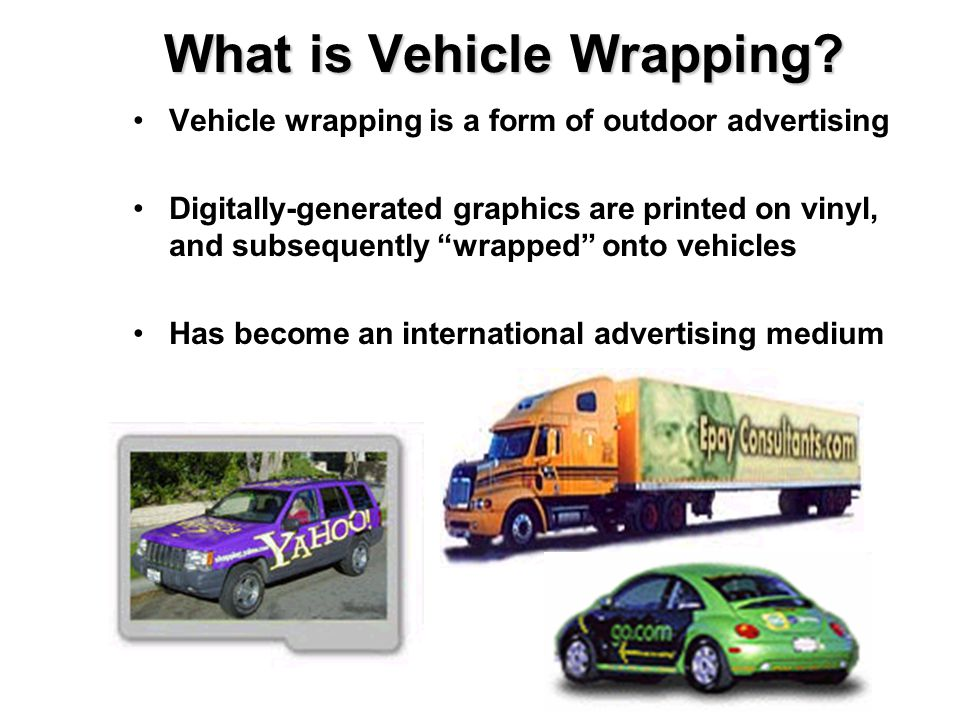 What is Vehicle Wrapping
