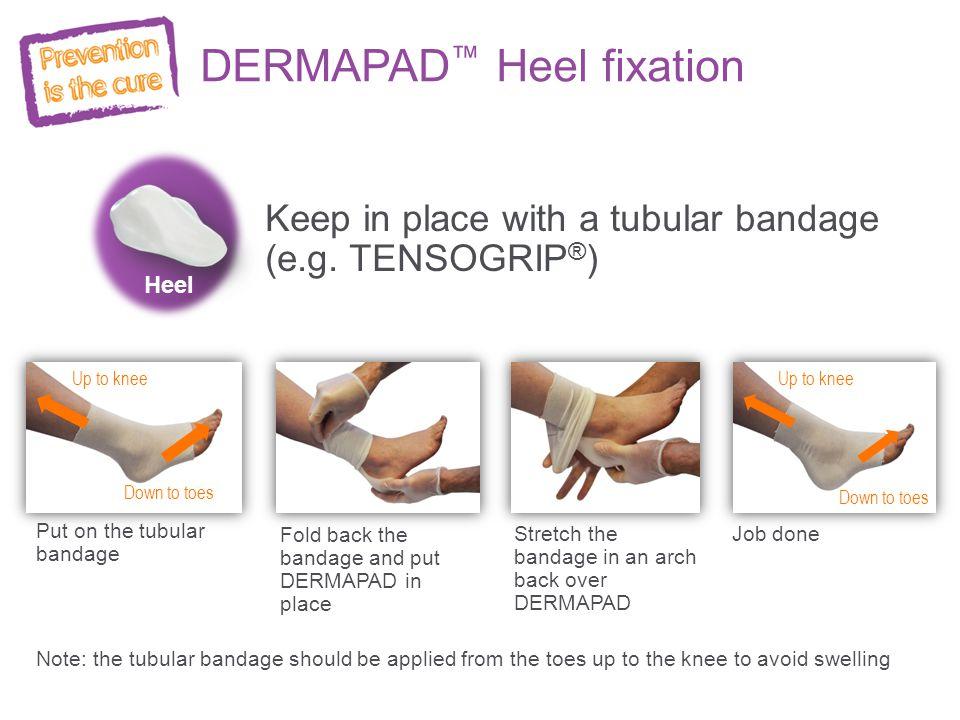 DERMAPAD™ Heel fixation