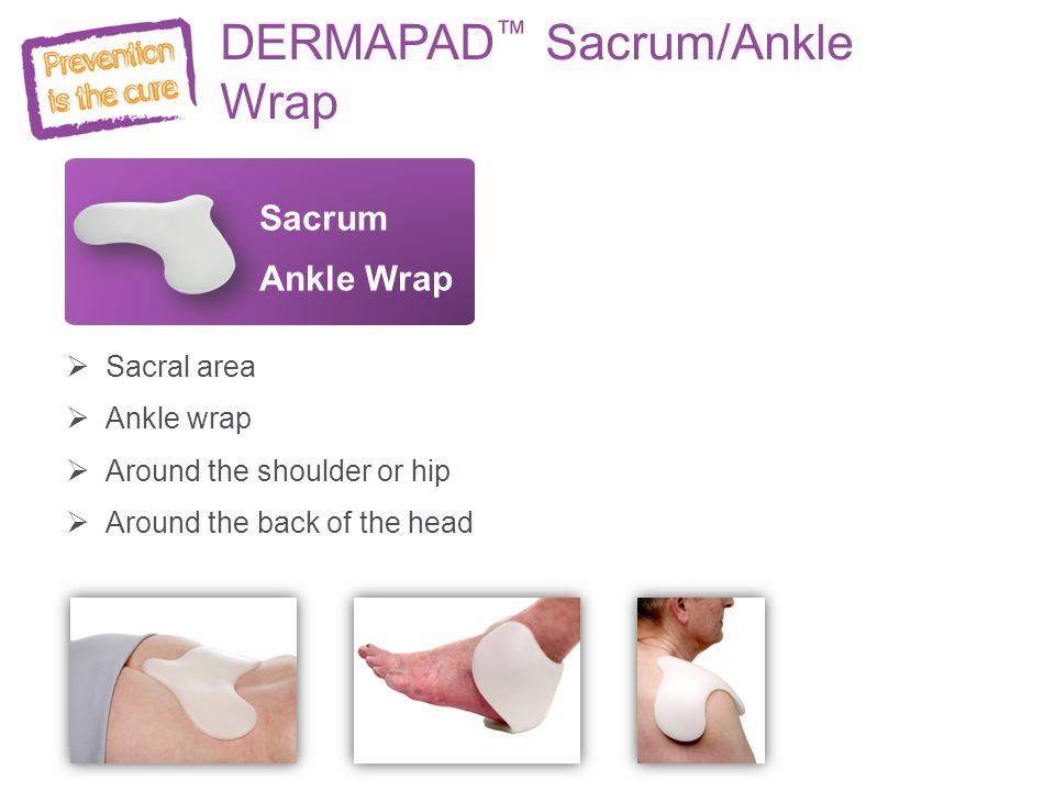 DERMAPAD™ Sacrum/Ankle Wrap