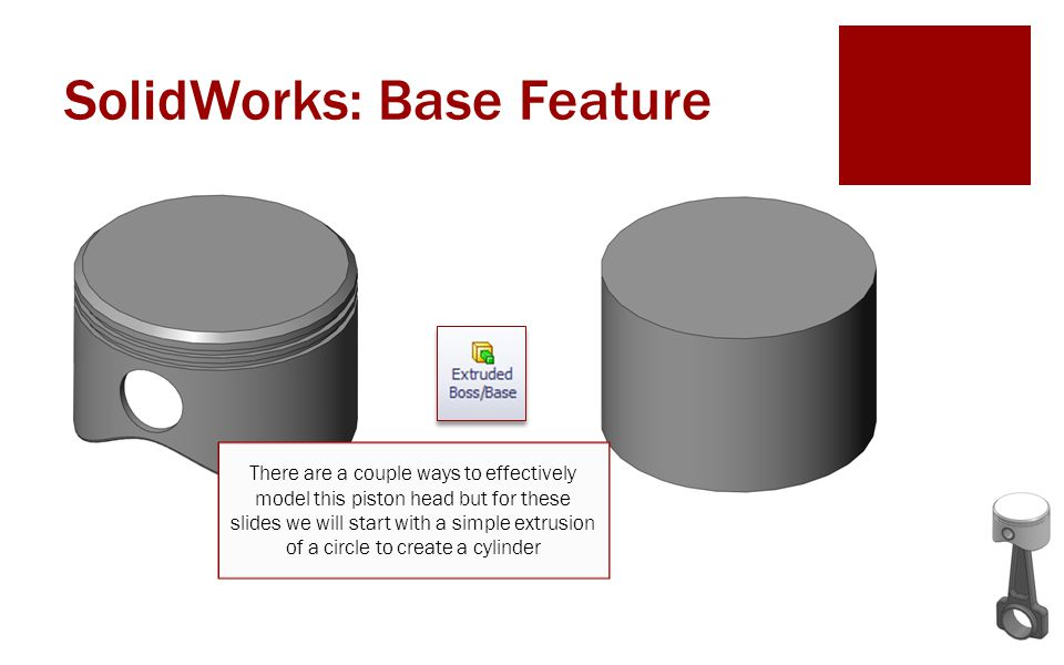 SolidWorks: Base Feature
