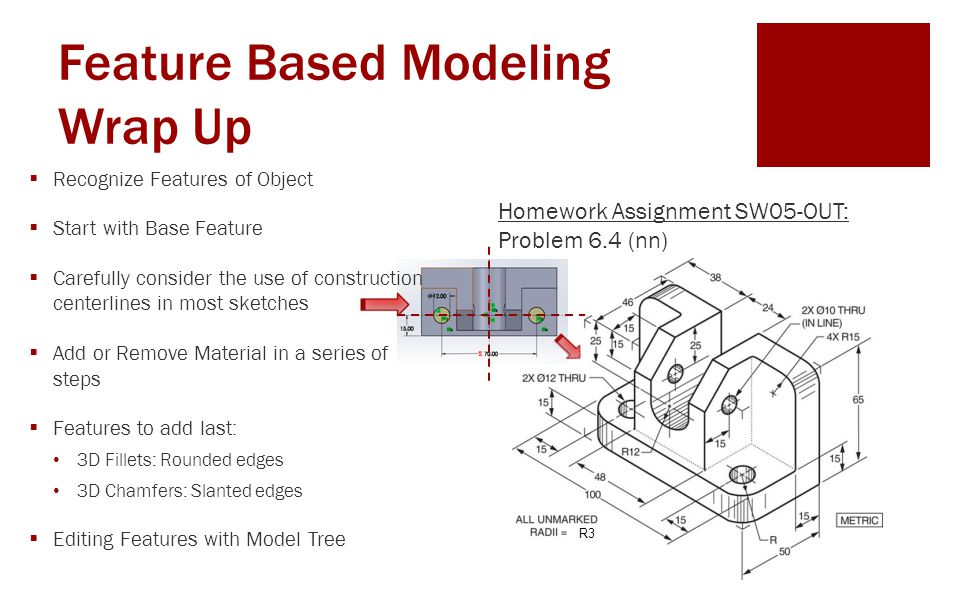 Feature Based Modeling Wrap Up