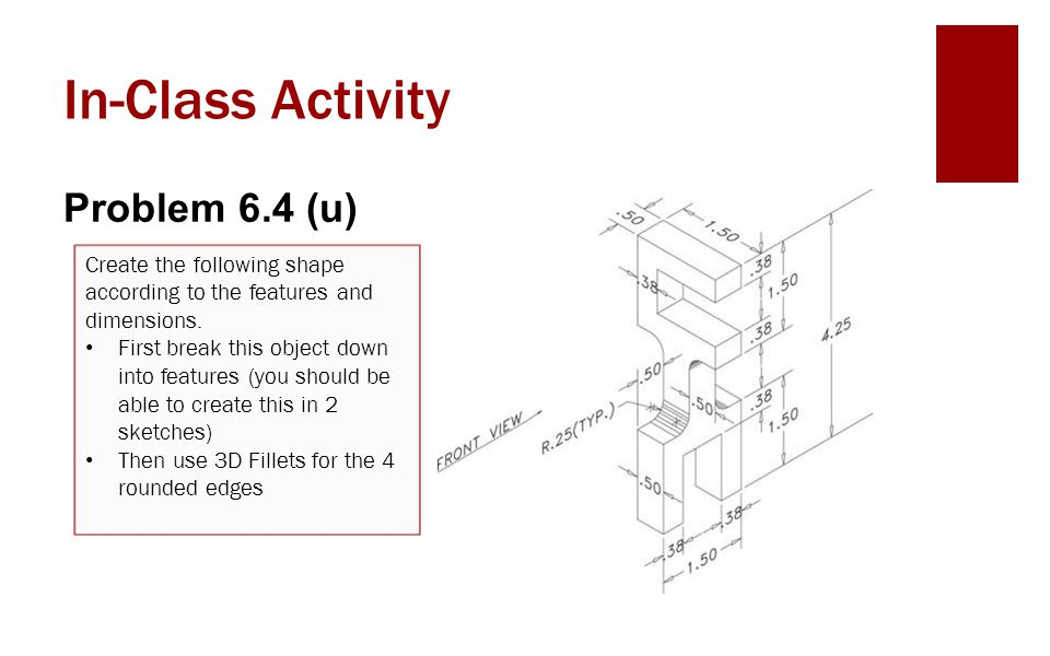 In-Class Activity Problem 6.4 (u)