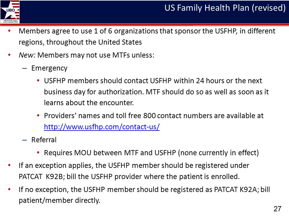 US Family Health Plan (revised)