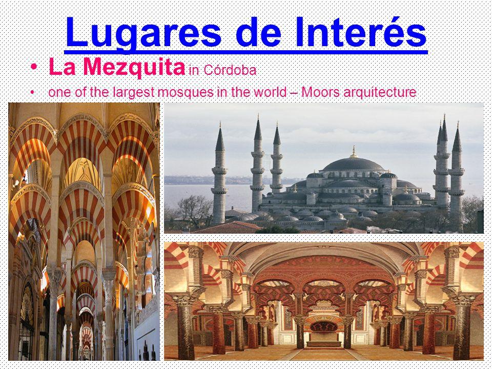 Lugares de Interés La Mezquita in Córdoba