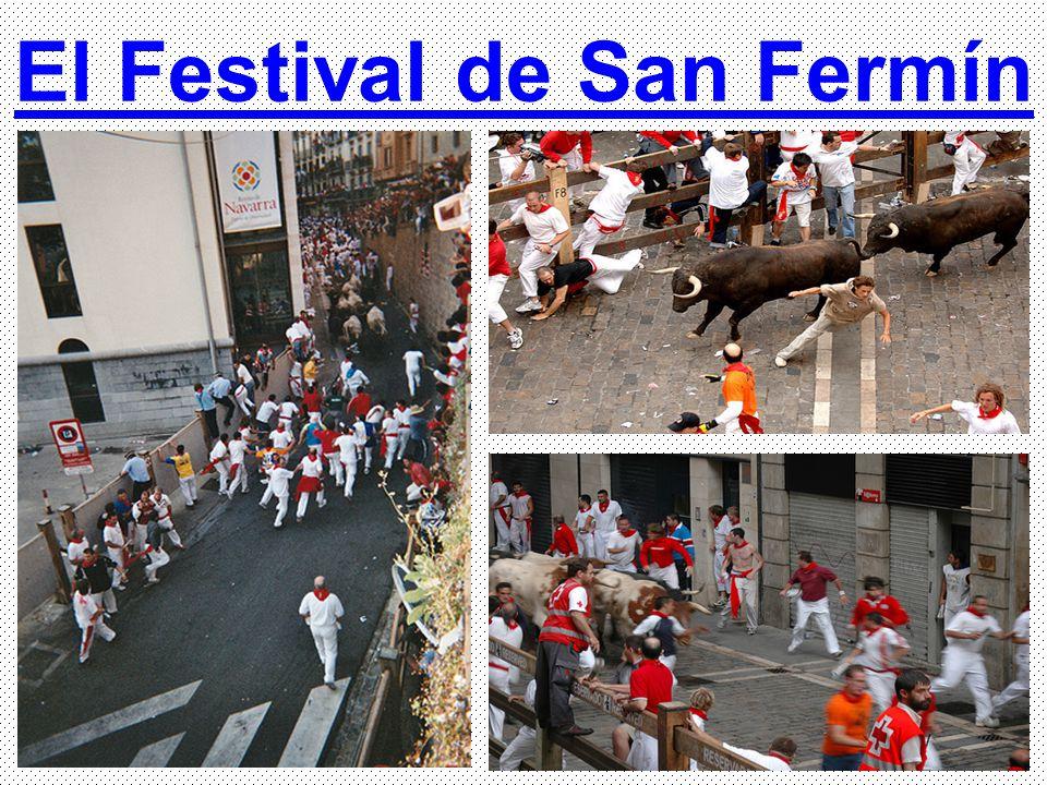 El Festival de San Fermín