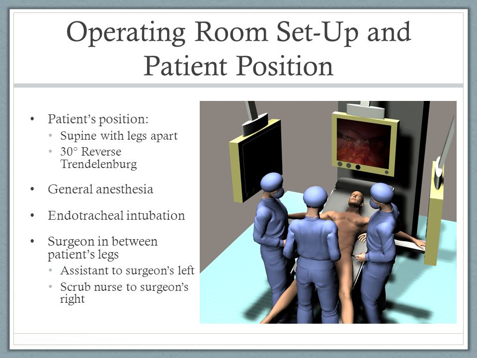 Operating Room Set-Up and Patient Position