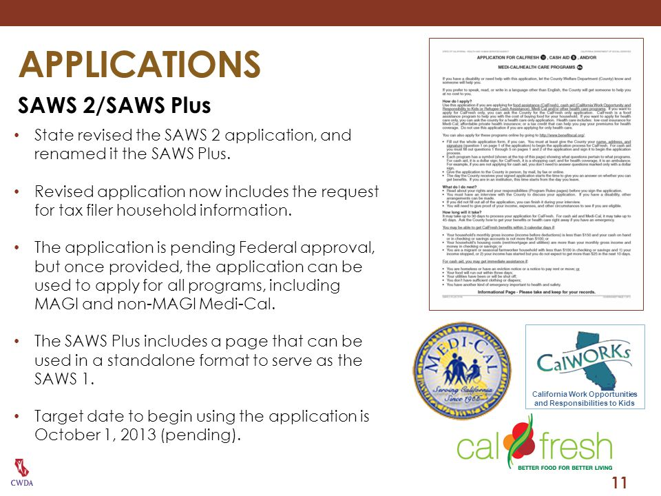 California Work Opportunities and Responsibilities to Kids
