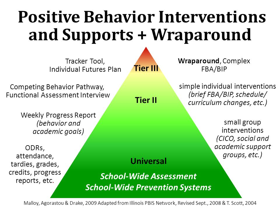 Positive Behavior Interventions and Supports + Wraparound
