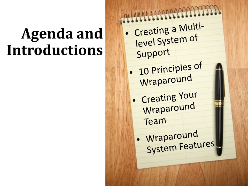 Agenda and Introductions