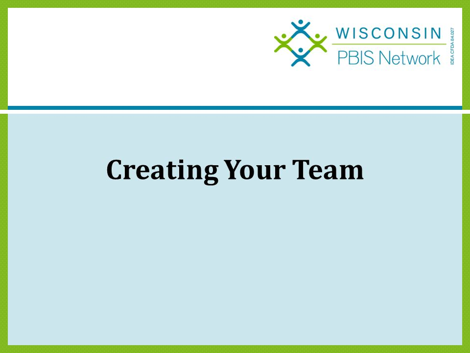 Creating Your Team