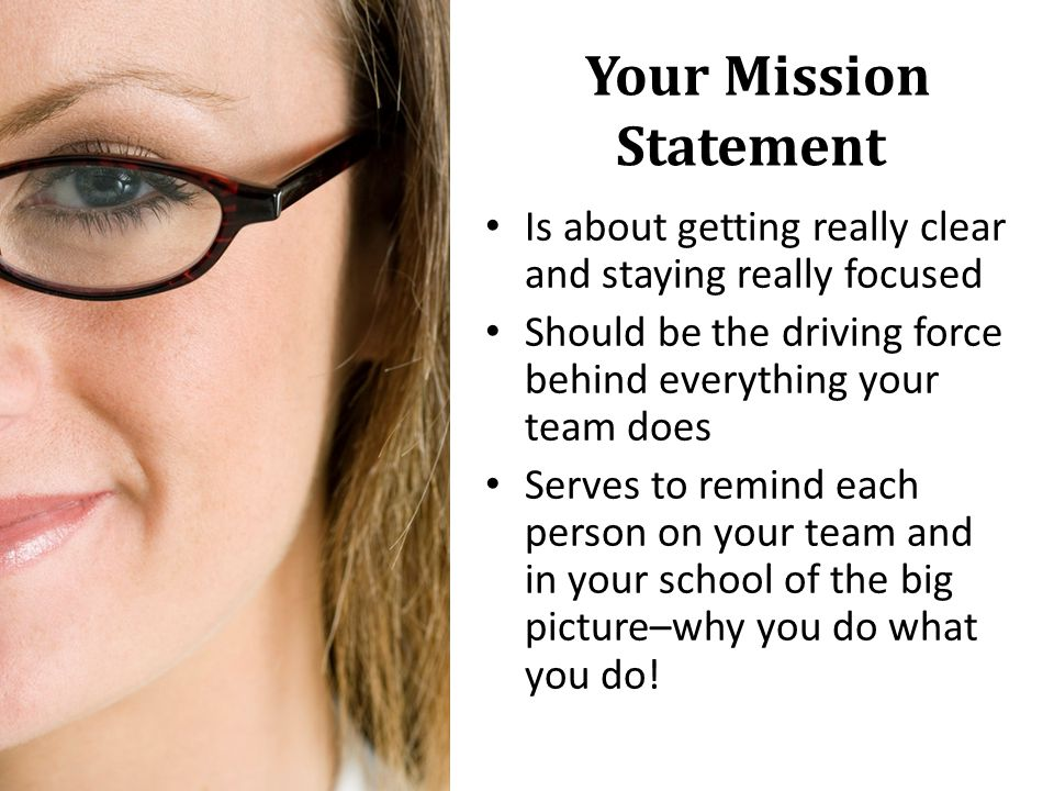 Your Mission Statement