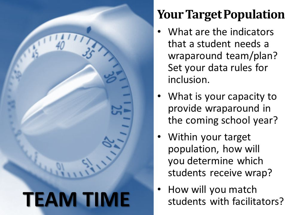 Your Target Population
