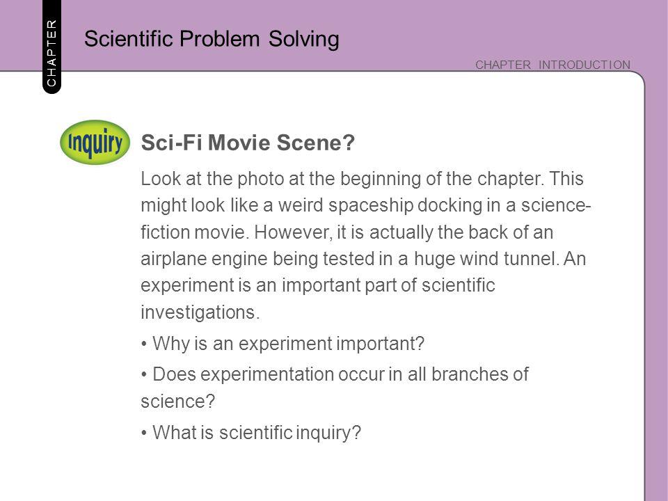 Scientific Problem Solving