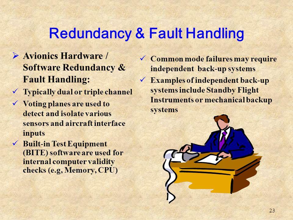 Redundancy & Fault Handling