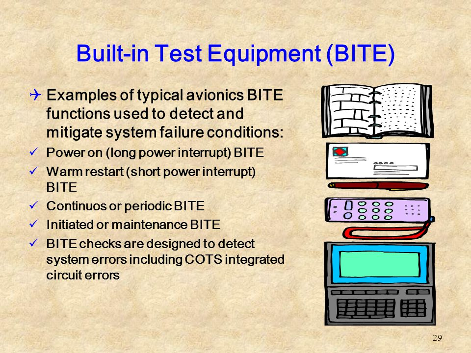 Built-in Test Equipment (BITE)