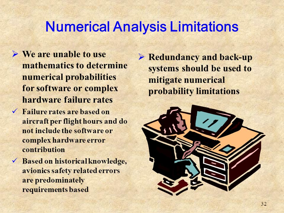Numerical Analysis Limitations
