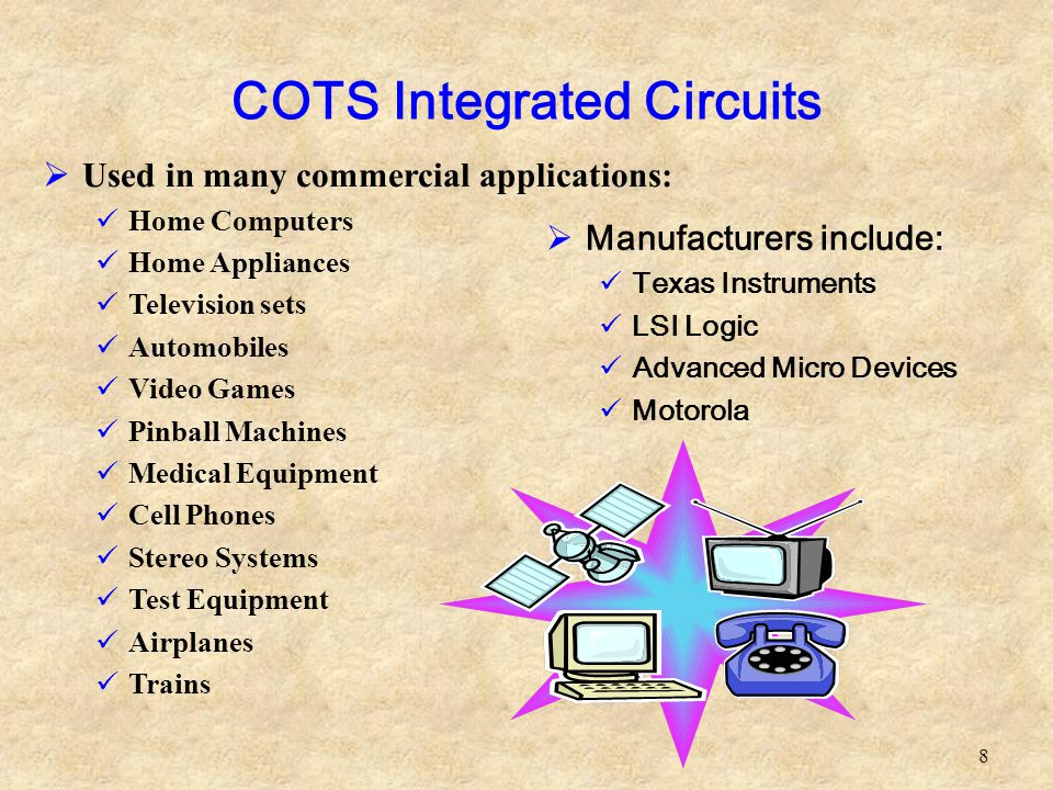 COTS Integrated Circuits