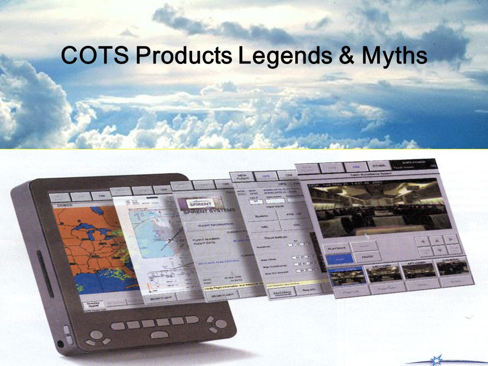 COTS Products Legends & Myths
