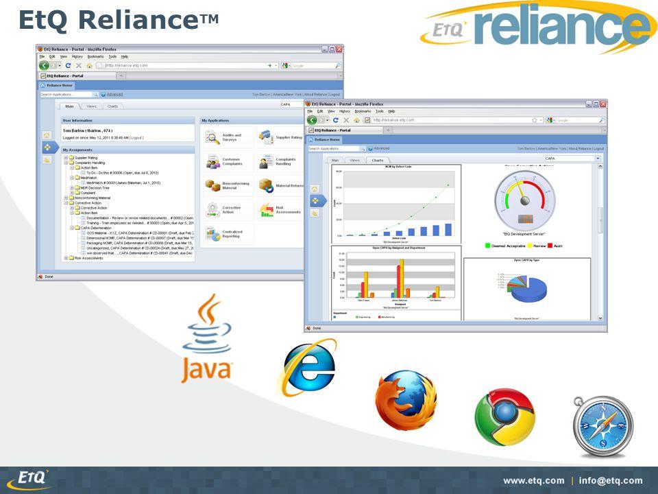 EtQ RelianceTM
