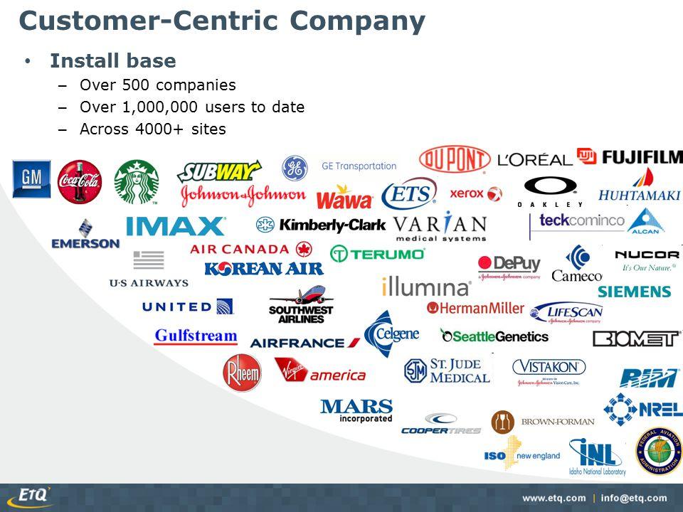Customer-Centric Company