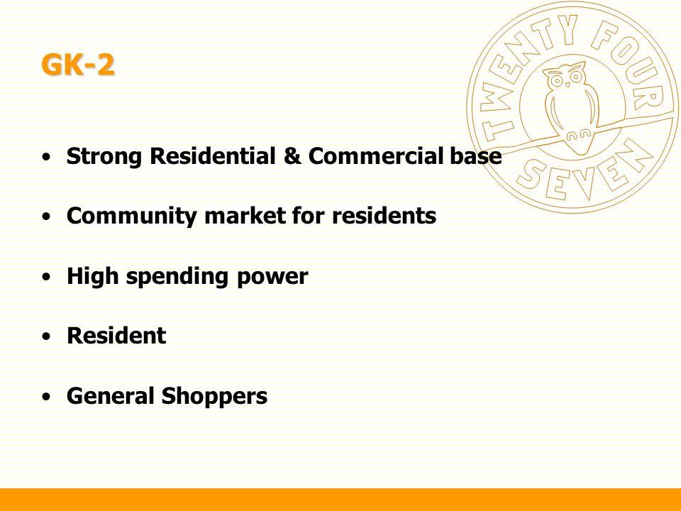 GK-2 Strong Residential & Commercial base