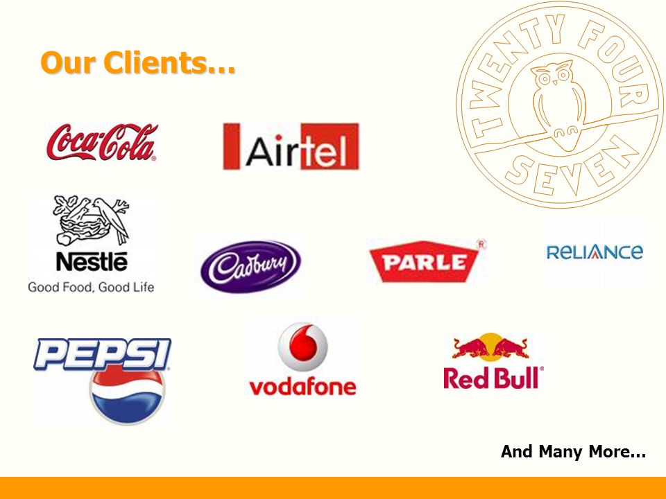 Our Clients… And Many More…