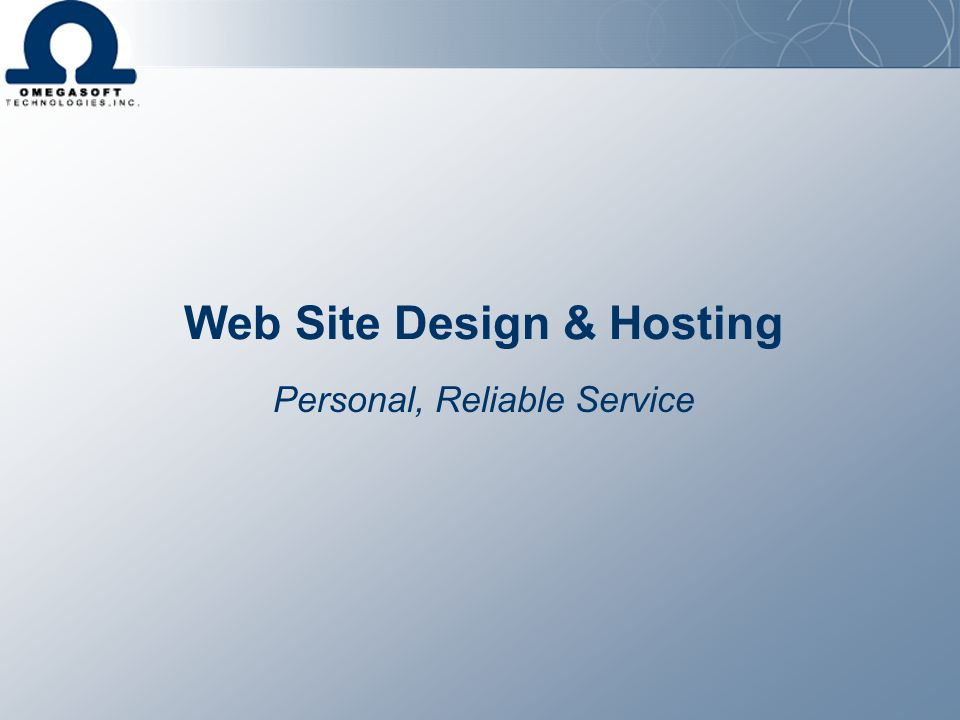 Web Site Design & Hosting
