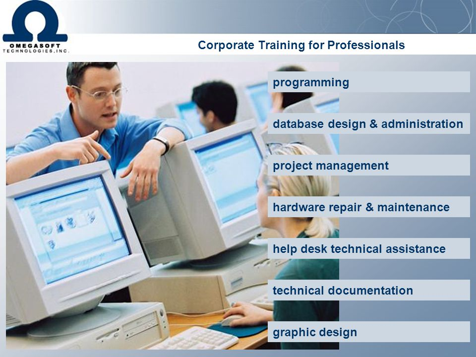 Corporate Training for Professionals