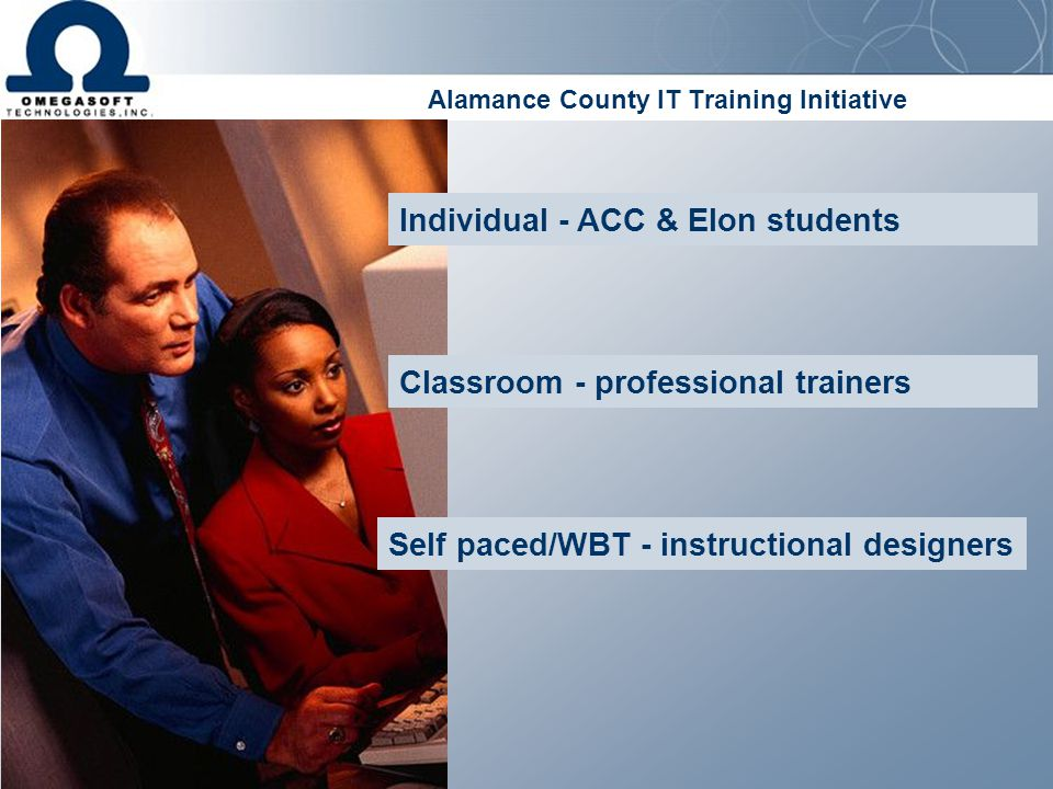 Alamance County IT Training Initiative