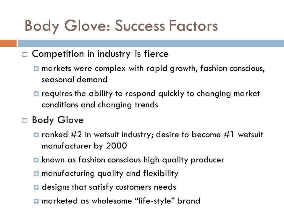 Body Glove: Success Factors