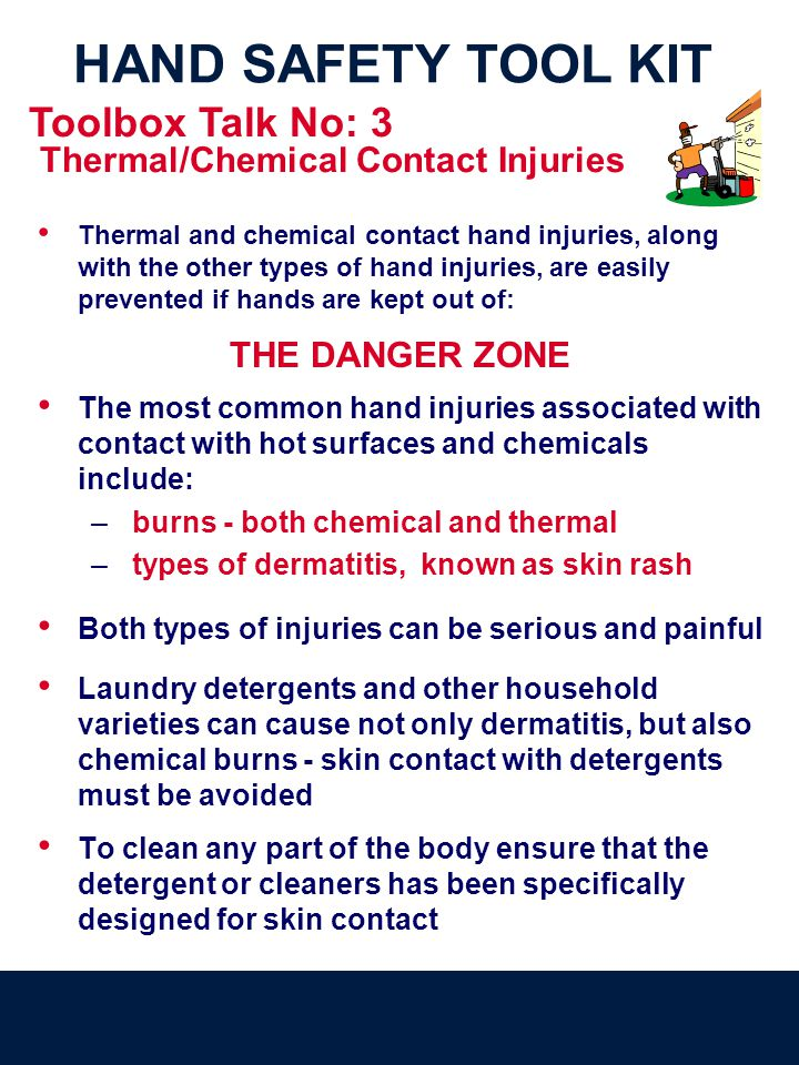 Thermal/Chemical Contact Injuries