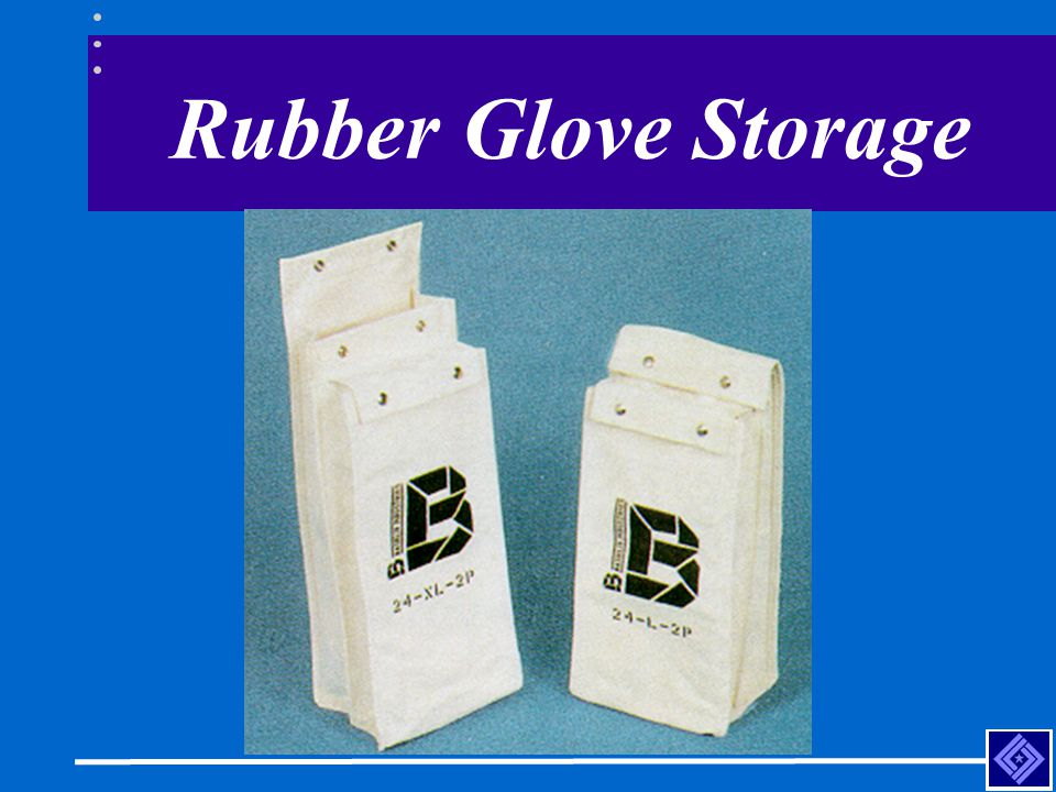 Rubber Glove Storage