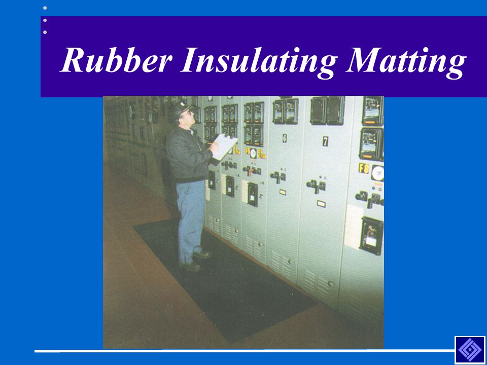 Rubber Insulating Matting