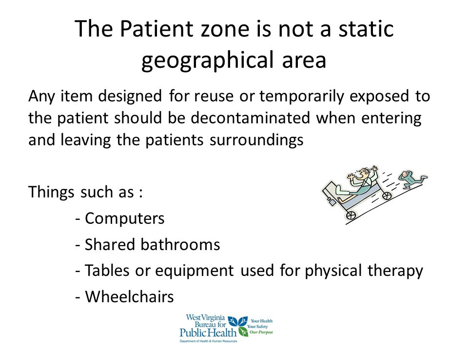 The Patient zone is not a static geographical area